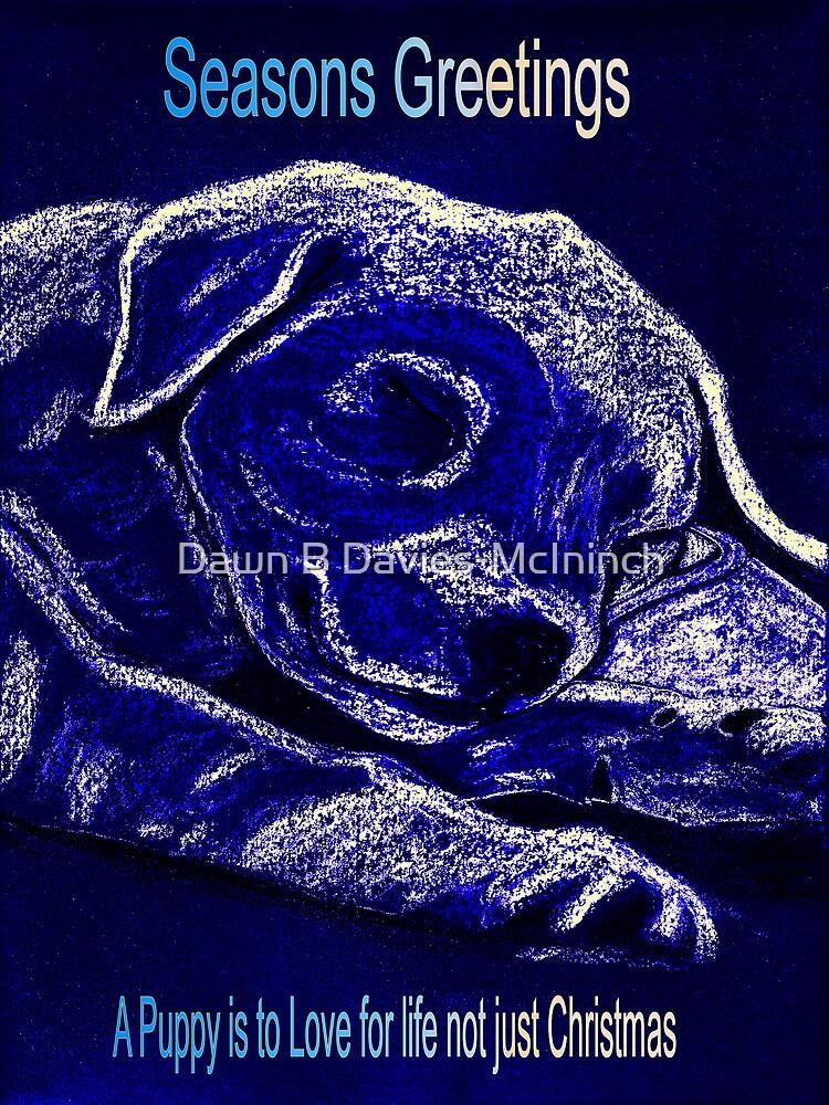 Puppy for Christmas by Dawn B Davies-McIninch