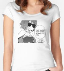 That Wasn't Very Cash Money Of You Women's Fitted Scoop T-Shirt
