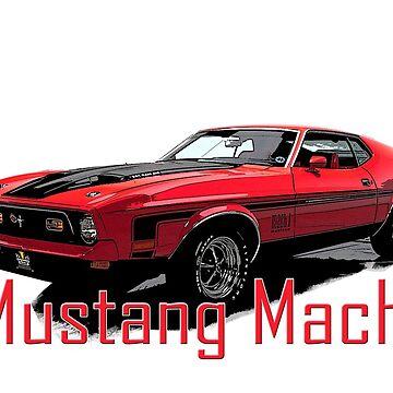 Mustang Mach1 by Tee-Art