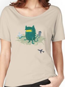 Octogrr Alien Holiday Women's Relaxed Fit T-Shirt