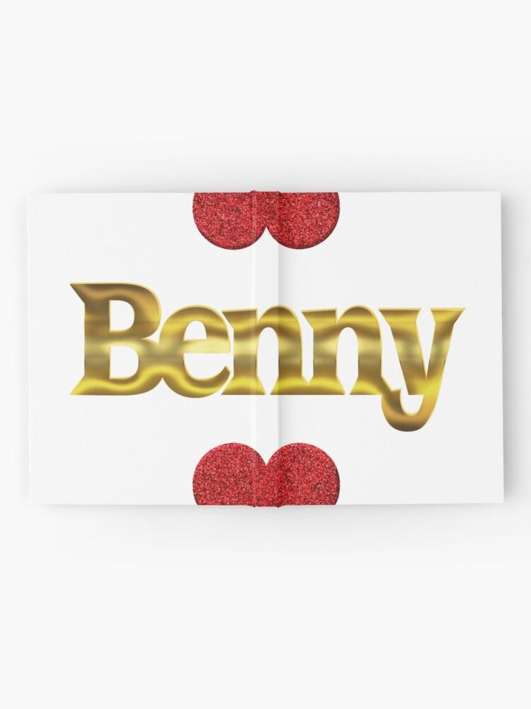 Alternative Ansicht von Benny Notizbuch