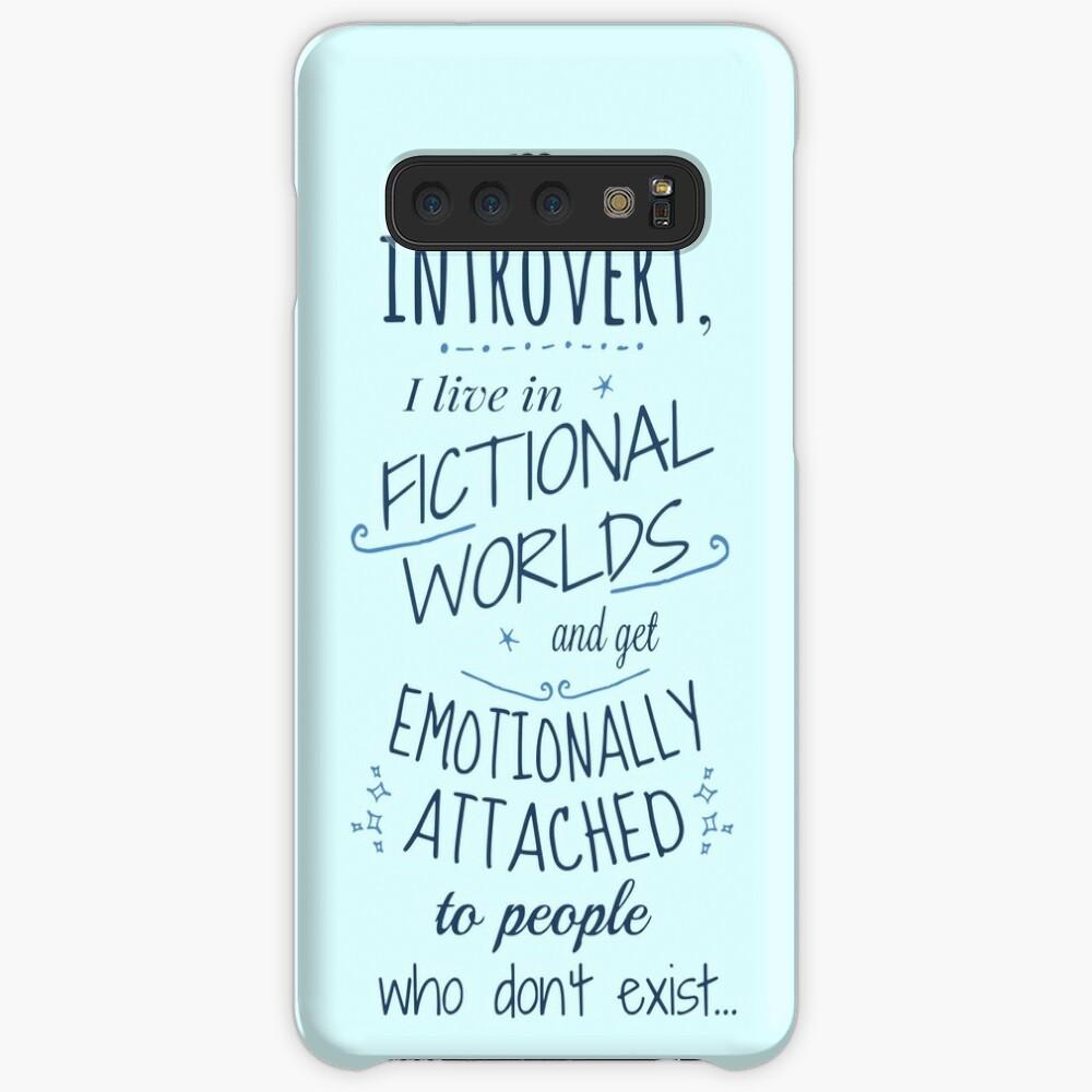 mundos introvertidos, ficticios, personajes ficticios Fundas y vinilos para Samsung Galaxy