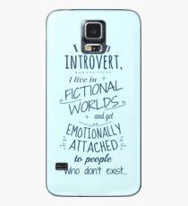 Funda/vinilo para Samsung Galaxy mundos introvertidos, ficticios, personajes ficticios