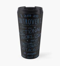 introvert, fictional worlds, fictional characters Travel Mug