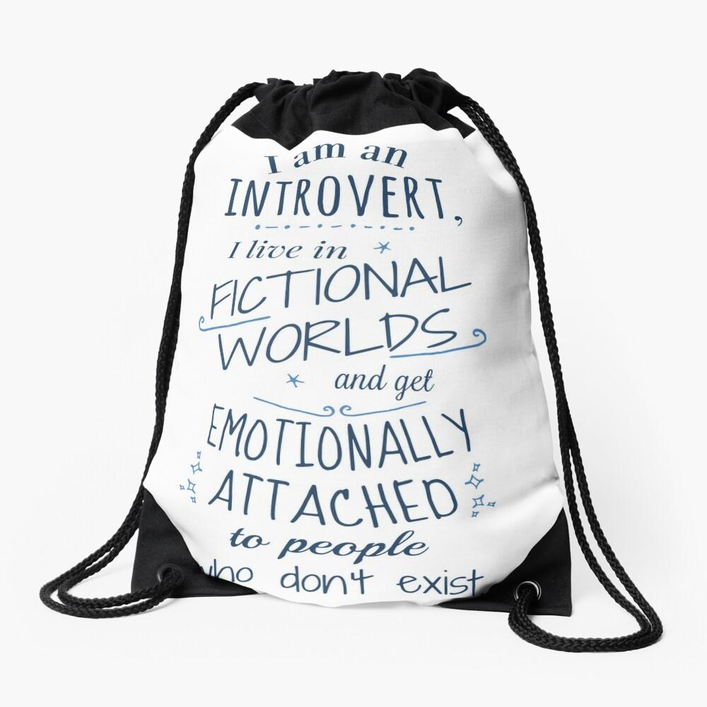 mundos introvertidos, ficticios, personajes ficticios Mochila saco