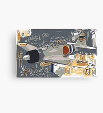 Zero Japanese Warbird Canvas Print