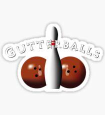 The Big Lebowski - Gutterballs Sticker