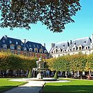 Place des Vosges in Early Autumn by Alex Cassels