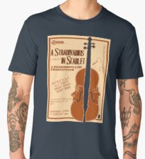 A Stradivarius in Scarlet Men's Premium T-Shirt
