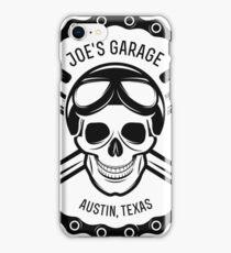 Motorbike Garage iPhone Case/Skin