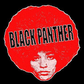 Angela Davis - Black Panther   by mindthecherry