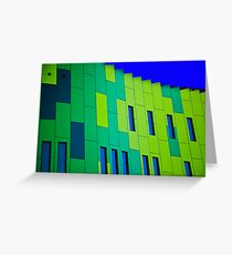 Contemporary Architecture Greeting Card