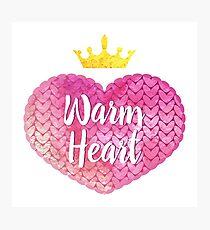 Warm hearts Photographic Print