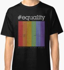 LGBT Equality Polaroid Vintage Classic T-Shirt