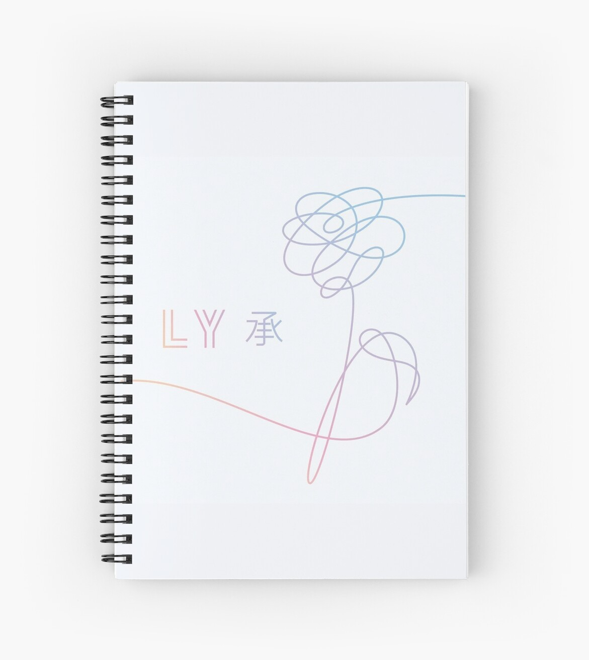 Bts love yourself album cover her o version spiral notebooks by bts love yourself album cover her o version by twentyfan solutioingenieria Gallery