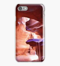 Weeping Sand in Antelope Canyon iPhone Case/Skin