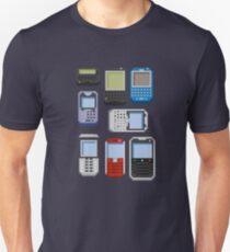 Pixel History (BlackBerry) Unisex T-Shirt