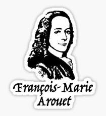 Voltaire Sticker