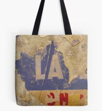 Untitled ready made collage from Paris Underground Tote Bag