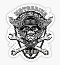 Motorradclub Sticker