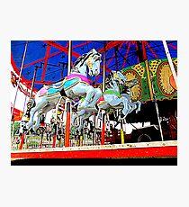 The Carousel Horsey's Secret Photographic Print