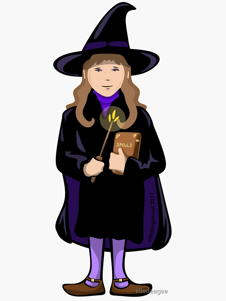 Wizard Girl by elledeegee