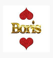 Boris Photographic Print
