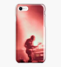Thom and Jonny from Radiohead playing Lollapalooza iPhone Case/Skin
