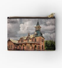 Train Station At Point Of Rocks Studio Pouch