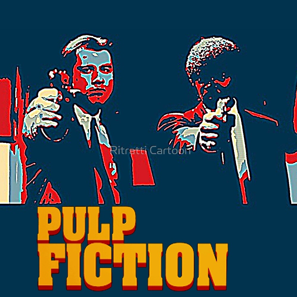 """Pulp Fiction Hope Style by Giuseppe """"Peps"""" Lucano"""