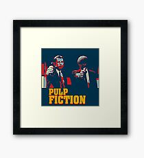 Pulp Fiction Hope Style Framed Print