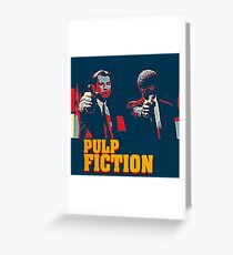 Pulp Fiction Hope Style Greeting Card