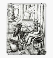 Rivendell poetry club  iPad Case/Skin