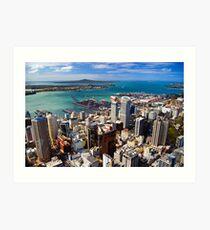 Waitemata Harbour, Auckland Art Print