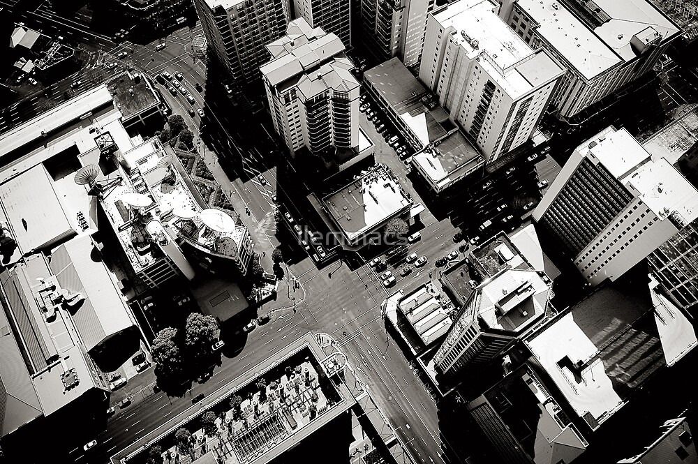 Auckland From Above by llemmacs