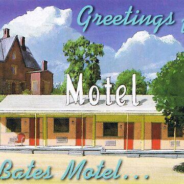 the bates motel PSYCHO by JealousPervert
