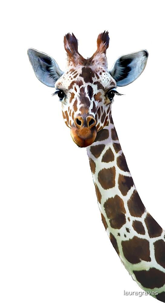 Giraffe by lauragraves
