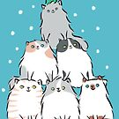 Kitty Cat Christmas Tree by zoel