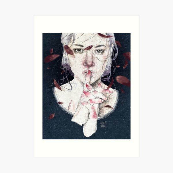 MIRROR by Elenagarnu Art Print