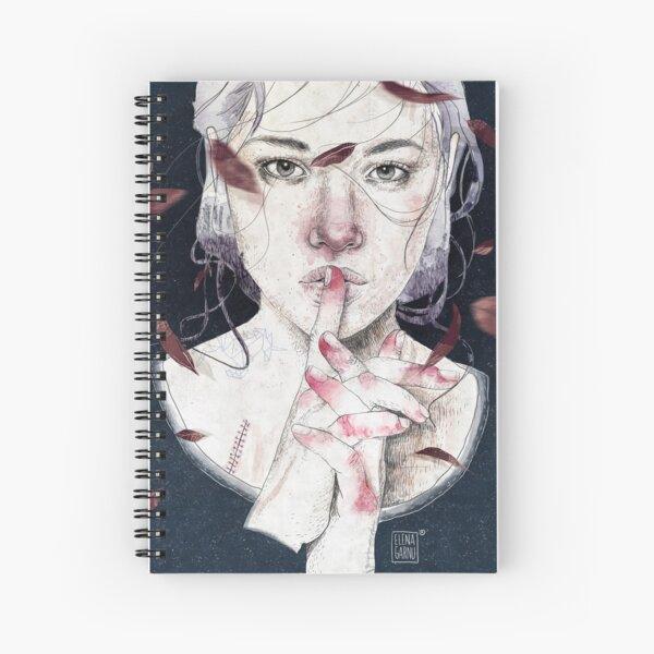 MIRROR by Elenagarnu Spiral Notebook