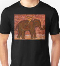 Flying Girl Receives Assistance, or Elephant Spirit T-Shirt