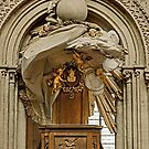 The Pulpit - Notre Dame Cathedral de Bayeux Normandy France by Buckwhite
