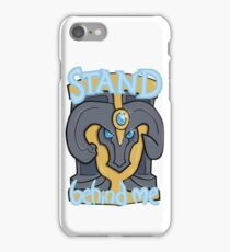 Stand Behind Me! Braum Shield iPhone Case/Skin