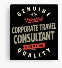 Corporate Travel Consultant Canvas Print