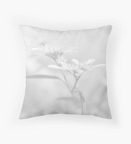 White V Throw Pillow