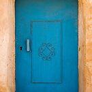 Tunisian Blue Door by llemmacs
