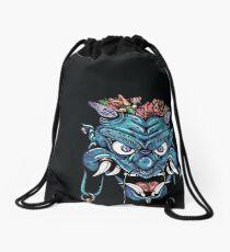 Blue Omen Oni Drawstring Bag