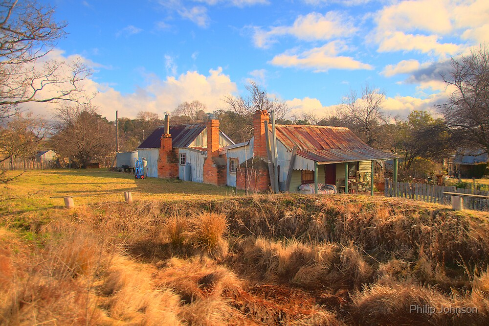 Needs Work - Hill End - The HDR Experience by Philip Johnson