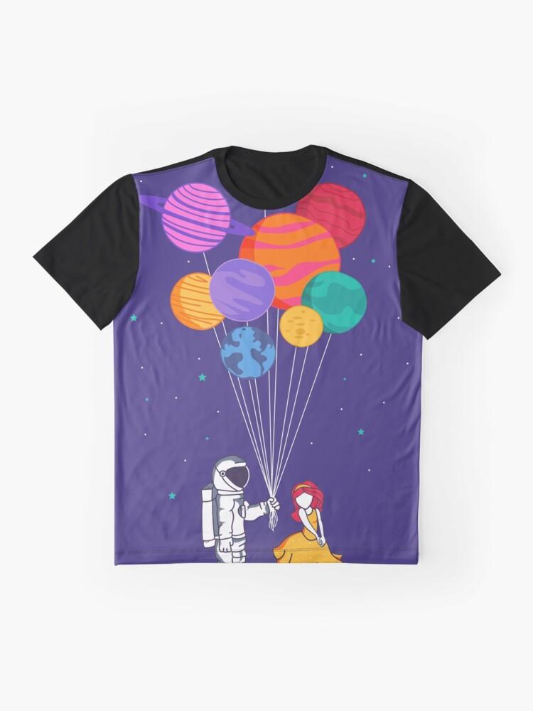 Alternative Ansicht von Für dich alles Grafik T-Shirt