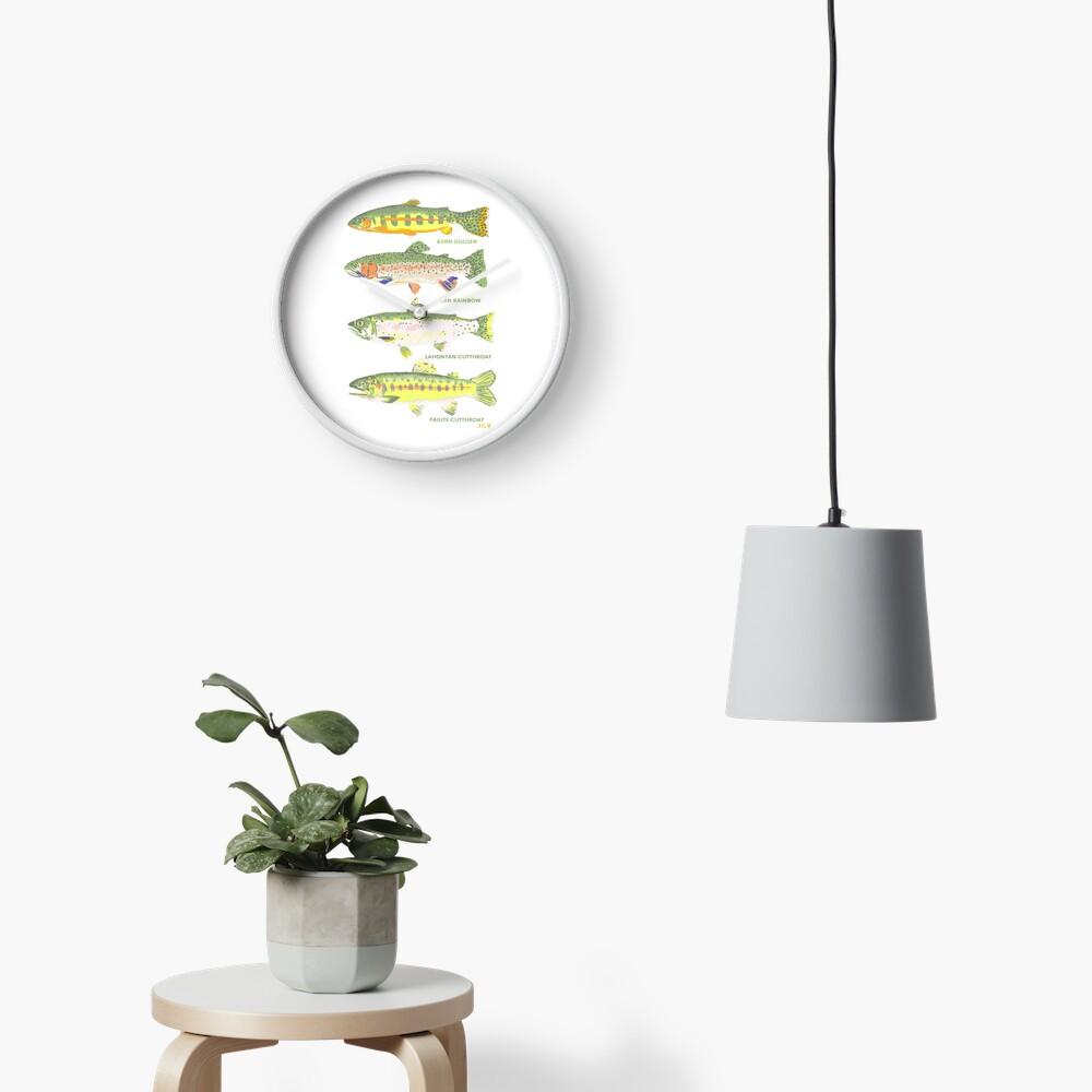 Kalifornische Forelle Uhr